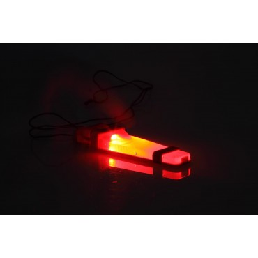 Lampe V-Lite Identification Orange- Casque-Sac-Velcro - Emerson