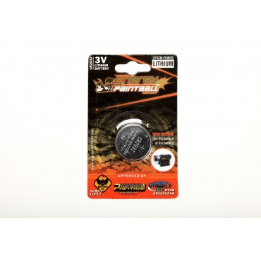 Batterie Bouton Energy Paintball 3V Lithium Cr2032 -Pack 2