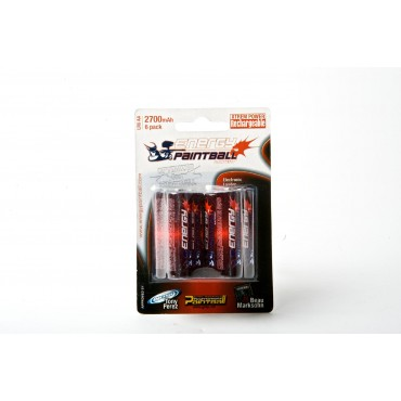 Batteries Energy Paintball Lr6 Nimh Rechargeable par 6