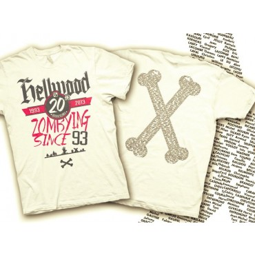 T-Shirt Collector Hellwood 20th Anniversaire - S