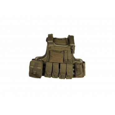 Veste combat Strike Molle Full set OD green