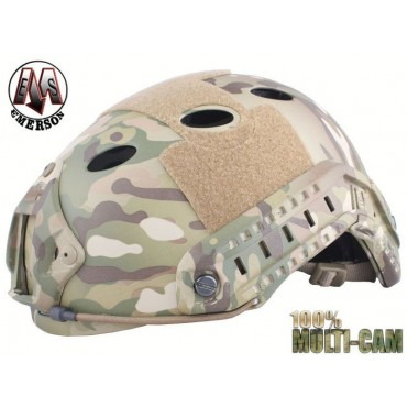 Casque tactique Emerson FAST PJ Molette-MultiCam