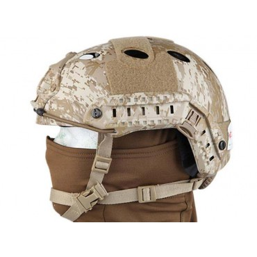 Casque tactique Emerson FAST PJ Molette-Digital Desert
