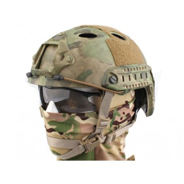 Casque tactique Emerson FAST PJ Molette-Atacs Foliage