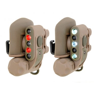 Lampe de Casque-rail ou casquette- Compact Light Gen 2 -Element - TAN