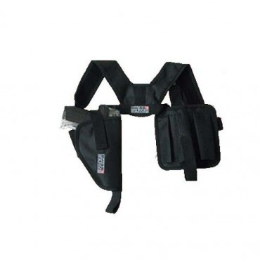 Holster d epaule horizontal noir - Swiss Arms