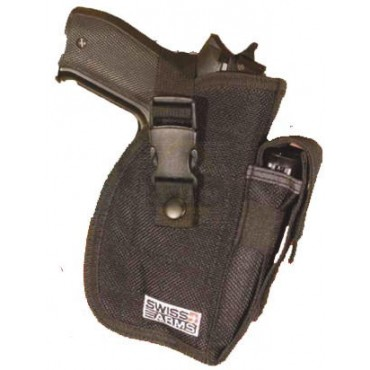 Holster de ceinture multi positions noir - Swiss Arms