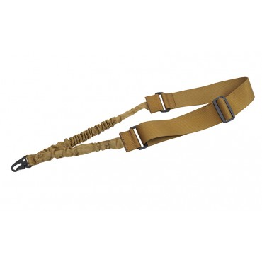 Sangle Bungee Tactique 1 Points TAN- DUKE