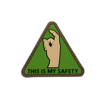 Patch This is my safety  PVC Velcro  - Emerson