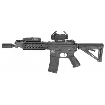 BlackWater- BW15 CQB Compact Full métal kaag83- AEG-King Arms