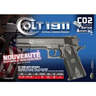 Colt 1911 Match CO2 Composite