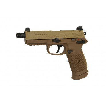 Pistolet FNX45 Tactical FN Herstal - gaz Blowback- Dark Earth - VFC