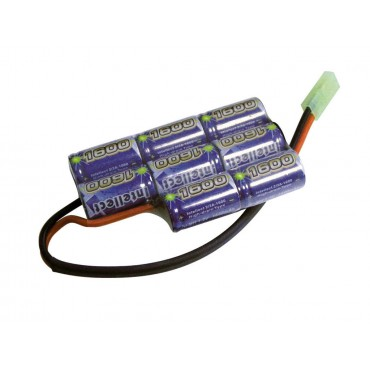 Batterie Intellect NimH Type boitier PEQ -9.6V 1600 mAh