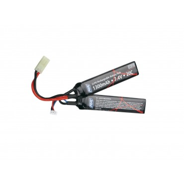 Batterie Li-Po 7.4V 1300 mAh Stick- 2 cellules
