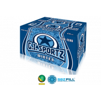 Billes paintball GI FROSTBITE WINTER - Carton de 2000